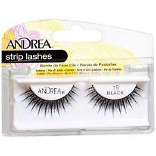 20 Pairs Andrea Modlash 19 False Eyelashes Strip Lashes Black 61928