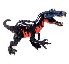 "Primeval Jurassic Black Dinosaur 6"" detailed toy figure, NICE! rex"