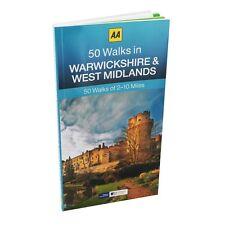 AA __ 50 cammina in Warwickshire & WEST MIDLANDS __ NUOVO _ 2017 __