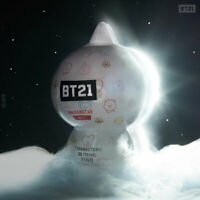 BTS BT21 Official Authentic Goods Collectible Figure Blind Pack Vol1. Base Camp
