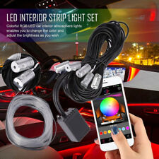 Multicolor RGB LED EL Neon Strip Light Sound Active Bluetooth Phone Control Lamp