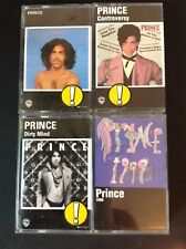 PRINCE - PRINCE, 1999, CONTROVERSY, DIRTY MIND - 4 NOS  CASSETTE