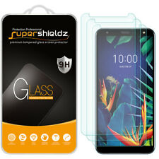 [3-Pack] Supershieldz Tempered Glass Screen Protector for LG K40