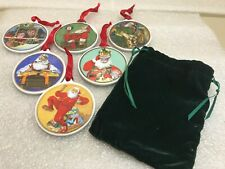 Norman Rockwell Museum Christmas Ornaments Set of 6 Art Inspired Norman Rockwell