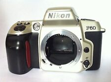 Student Photography Course Nikon F60 35mm Film Camera 3-M Guarantee Tested Work