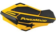 Powermadd Ski-Doo Yellow Sentinel Handguards w/ ATV MX Mount Kit 34401 34452