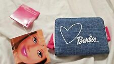 Barbie - Portafoglio in Jeans 11x8cm chiusura Cerniera - Mattel - Nuovo