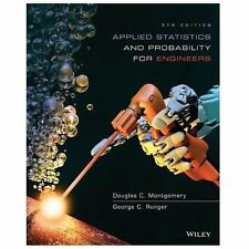 E-BOOK!!! Applied Statistics and Probability for Engineers 6th Edition E-BOOK!!!