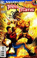 Teen Titans #81 Milestone Static Comic Book - DC
