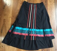 Cordelia Collection A-line skirt - black - size 10 - as new