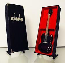 Pete Townshend (The Who): Gibson SG - Guitar Miniature Replica (UK Seller)