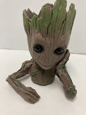 Baby Groot Planter Figure Tree Man Flower Pot Pen Holder Guardians of the Galaxy
