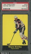 1991 Parkhurst Hockey #222 Wayne Gretzky HOF Frequent All-Star PSA 10