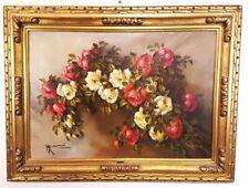 Dipinto Olio su Tela Mario Salimbeni, oil painting - ancien hiule sur toile