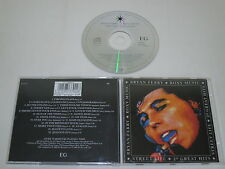 BRYAN FERRY-ROXY MUSIC/STREET LIFE - 20 GREAT HITS(EG EGCTV 1) CD ÁLBUM