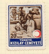 Turkey 1950s Child Welfare Early Issue Fine Mint Hinged 20p. 063117