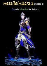 Diablo 3 Ps4/Xbox One - Zauberer - Vyrs Verblüffende Arcana - URALT - Unmodded