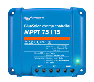 Victron Energy MPPT Blue Solar Charge Controller 75/15