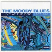 THE MOODY BLUES 'LIVE AT THE BBC 1967-1970' 2 CD NEW!