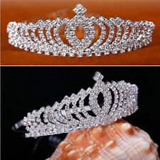 Children's crown hairband The little princess diamond head band Baby hair beauty