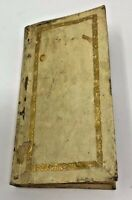 College of Cardinals &Church directory 1761 during Pope Clemente XIII papacy