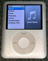 Apple iPod Nano MP3-Player (inkl. Video-Funktion) 8 GB silber  *GUT*