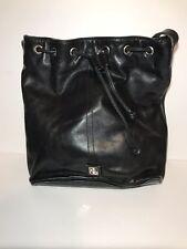 541c33ed4b Lauren Ralph Lauren Purse Black Leather Handbag Shoulder Bag Satchel Tote  Bag