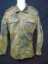 KOHLER GMBH /91 Vintage German Military Flecktarn BDU Shirt 175-185 7585/9500
