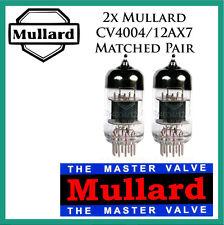 New 2x Mullard 12AX7 / CV4004 | Matched Pair / Duet / Two Tubes