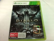Diablo 3 III Reaper of Souls Ultimate Evil Edition Xbox 360