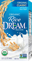 RICE DREAM Classic Original Organic Rice Drink, 32 Fl. Oz  (Pack of 12)