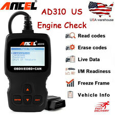 Universal AD310 OBD2 Car fault Code Reader reset engine Analyzer Diagnostic Tool