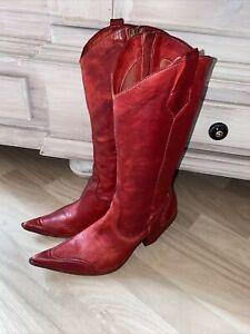 Unbeschreiblich traumhaft schöne Stiefel 38 / 5 Westernstiefel Cowboystiefel COX