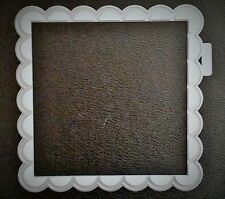 Die Cutter LACE SQUARE 14cm x 14cm Works with Cuttlebug & Sizzix with adapters