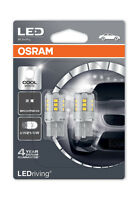 Osram LED W21/5W T20 DC 3W Cool White Bulbs 6000K 580 W3x16q Wedge 7715CW-02B