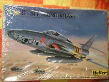 Heller 1:48 RF-84 F Thunderflash Plastic Aircraft Model Kit #80417U