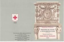 Carnet Croix Rouge 1969 - 8 timbres Non Oblitérés - Muséum Calvet Avignon