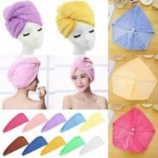 Microfiber Large Quick Dry Towel Hair Magic Drying Turban Wrap Hat Bathing Cap