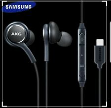 SAMSUNG GALAXY NOTE 10/10+ S20/Ultra S20+ AKG TYPE C HANDSFREE HEADPHONE  Black