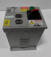 DAYKIN ELECTRIC 480V 2.3A 1PH TRANSFORMER DISCONNECT MDGTA-05