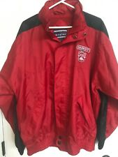 Smirnoff Ice One Size Fits All  Red/Blk Windbreaker Jacket With Hood
