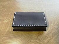 card minimalist slim wallet real leather artisan handmade