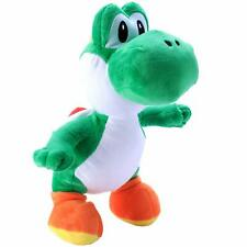 "Plush Super Mario Yoshi 8"" L, Excellent Condition"