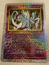 Pokemon, Legendary Collection S4/S4, Mewtwo, Jumbo, Box Topper Promo Card 2002