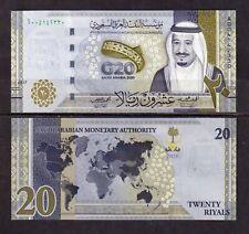 More details for saudi arabia - 2020 20 rials g20 unc banknote