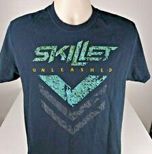 Skillet T-Shirt Size Medium The Unleashed Tour Rock Concert Shinedown