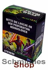 Topps Star Wars - The Clone Wars Serie - 50er Booster Sticker Display