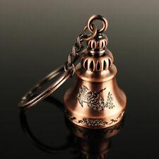 Retro Wind Chime Jingle Bell Key Ring Keyring Keychain Bag Pendant Gift