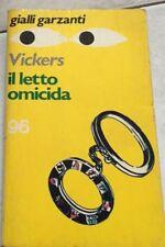 GIALLI GARZANTI-N. 96-ROY VICKERS-IL LETTO OMICIDA-MARZO 1976