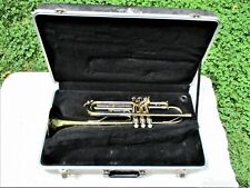 BLESSING B-125 TRUMPET, CASE, CLEAN